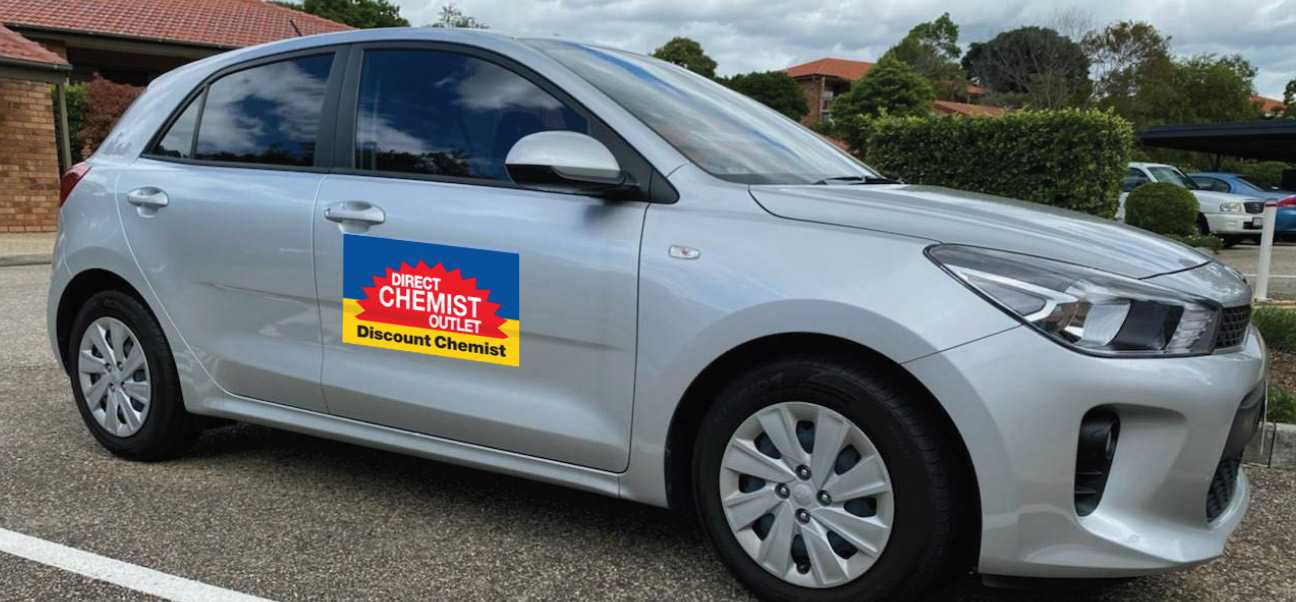 Direct Chemist Skygate Delivery Car