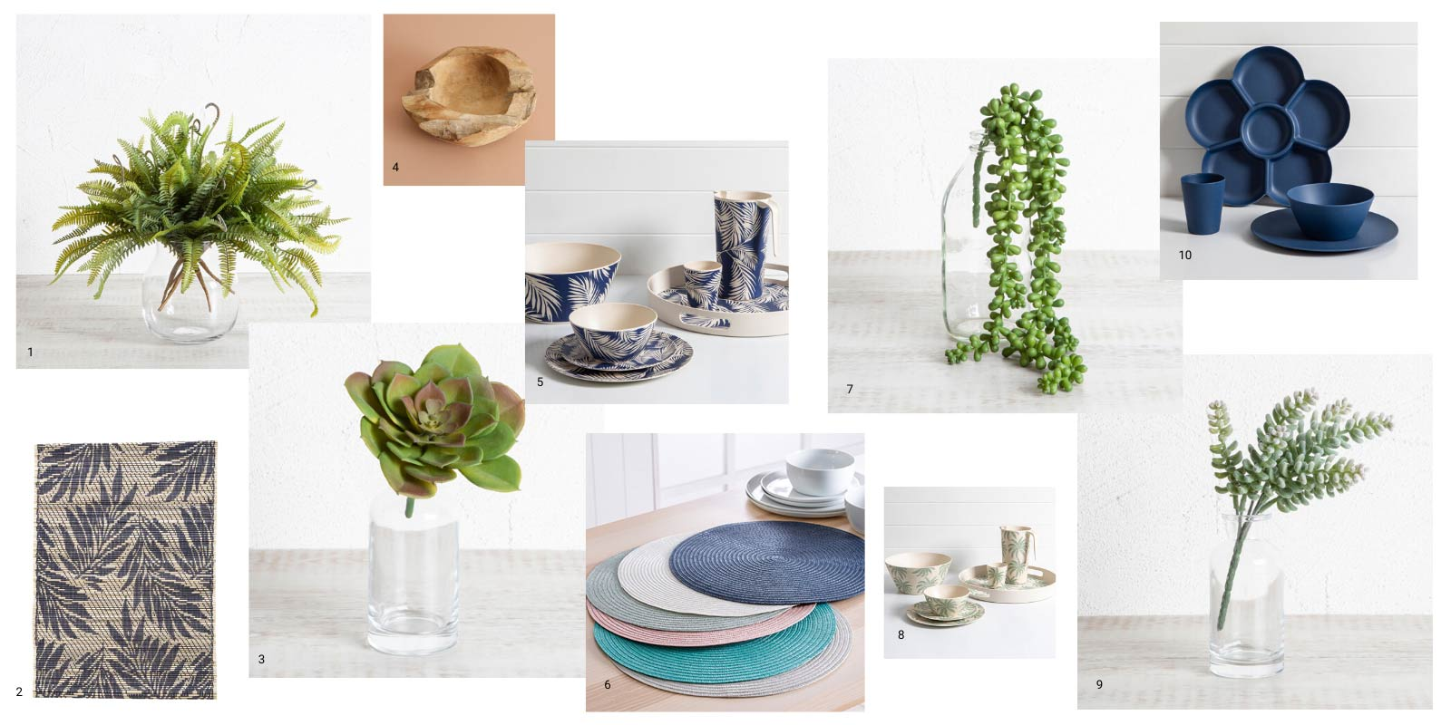 Pillow Talk tableware summer table styling
