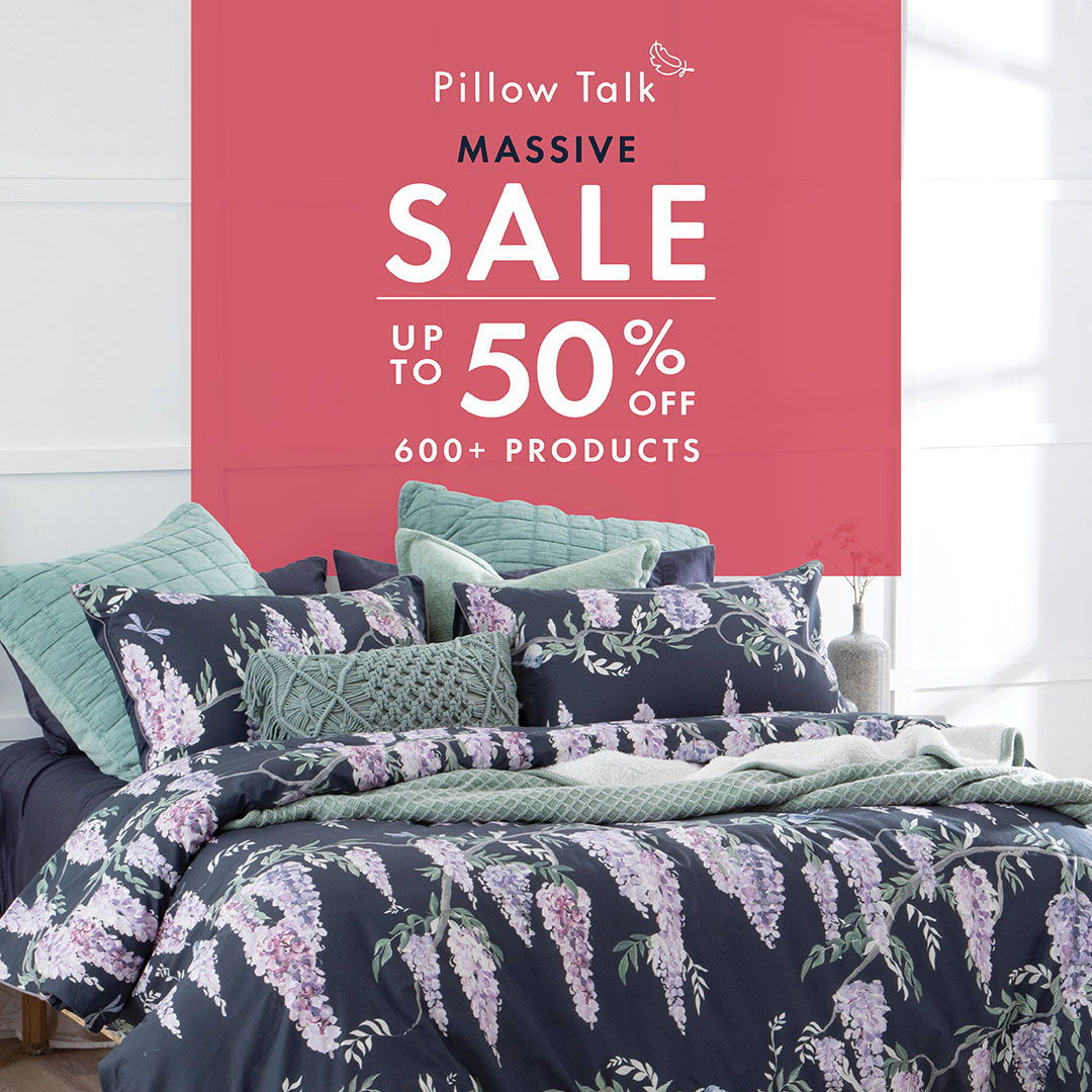 Pillow Talk Massive Sale