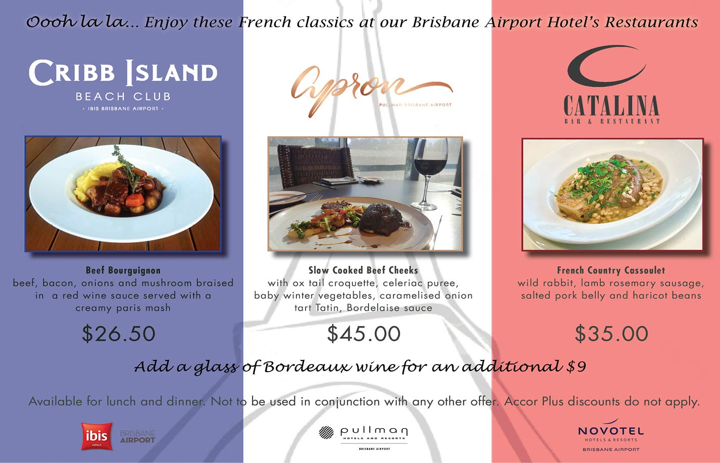 Catalina Restaurant lunch and dinner special Skygate